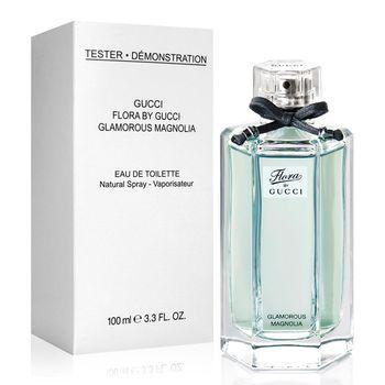 【福利品】Gucci 花園香氛 璀璨白玉蘭女性淡香水-Tester(100ml)