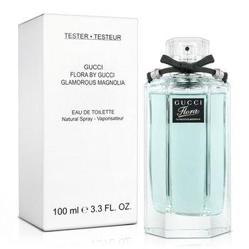 【福利品】Gucci 花園香氛 白玉蘭 女性淡香水-Tester(100ml)