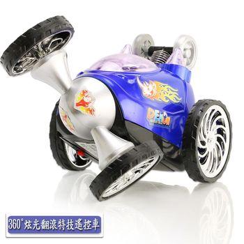 【Toy F1】360°炫光翻滾特技遙控車