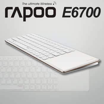 RAPOO 雷柏  藍芽超薄觸控鍵盤 ( E6700 )