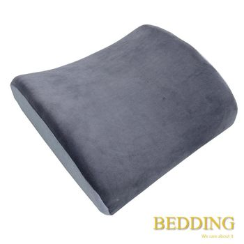 【BEDDING】 科技記憶棉舒壓護腰枕-深灰