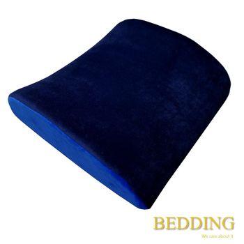 【BEDDING】 科技記憶棉舒壓護腰枕-深藍
