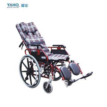 【亮亮生活】★ 鋁製躺式特製輪椅  ★