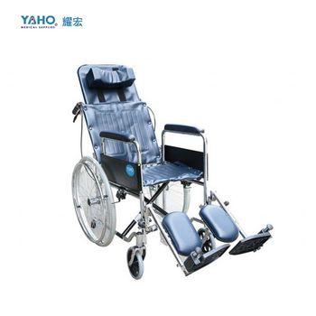 【亮亮生活】★ 鐵製躺式輪椅 骨科腳  ★