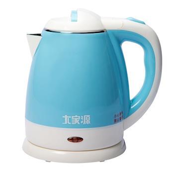 大家源1.2L高級304不鏽鋼防燙快煮壺(TCY-2752)