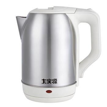 大家源1.8L高級304不鏽鋼寬口快煮壺(TCY-2648)