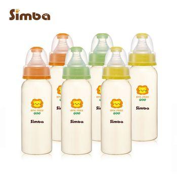 【小獅王辛巴】PES標準彩色大奶瓶6支組