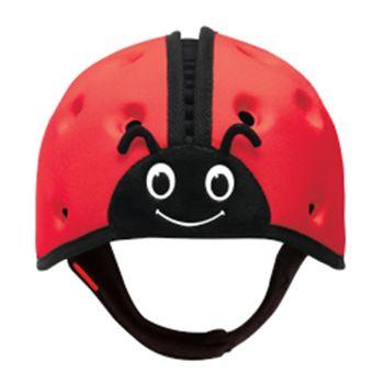 英國SafeheadBABY學步防撞安全帽- 熱情紅