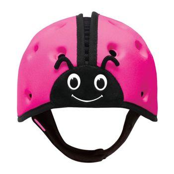 英國SafeheadBABY學步防撞安全帽- 繽紛桃