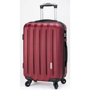 America Tiger晶鑽紅20吋ABS行李箱