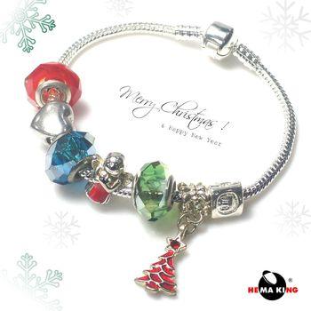 【HEMAKING】潘朵拉可愛聖誕手鍊