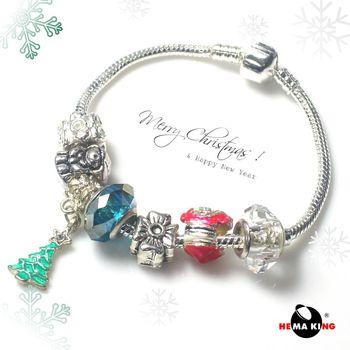 【HEMAKING】潘朵拉聖誕氣氛手鍊