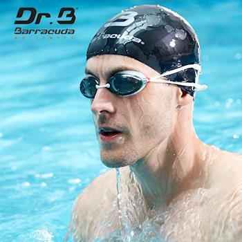 美國巴洛酷達Barracuda 光學度數泳鏡巴博士Dr.B#32295 RACER 白