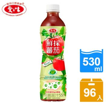 【愛之味】鮮採蕃茄汁Oligo腸道保健4箱組(530mlx24入/箱)
