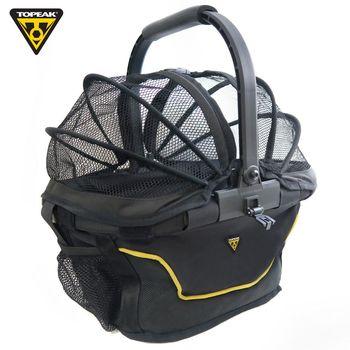 TOPEAK MTX Basket Rear 單車/自行車前置物籃購物菜籃-黑色