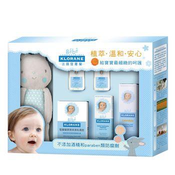 KLORANE蔻蘿蘭 寶寶清潔保濕舒緩禮盒(送蔻蘿蘭2入試用品)