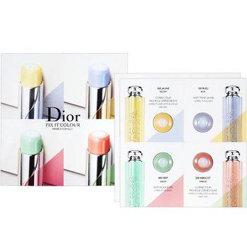 Dior 迪奧 瞬效美肌飾底膏四色精巧版(4*0.4g)*2