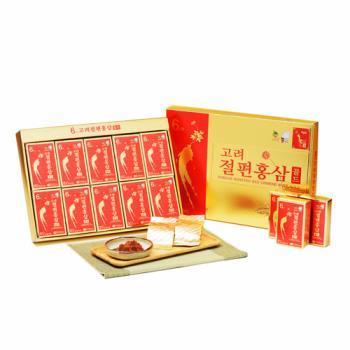金蔘-6年根韓國高麗紅蔘蜜片(20g*10份/盒)加贈蔘芝王3瓶