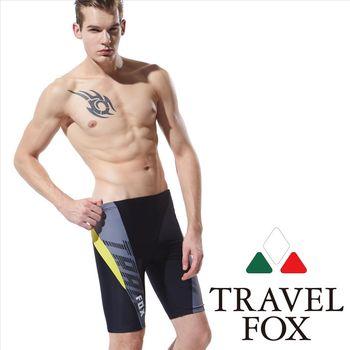 【TRAVELFOX 旅狐】酷炫大男七分泳褲(C15914)