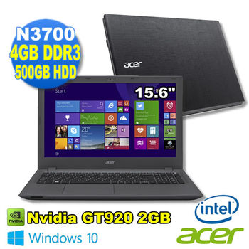 Acer 宏碁 E5-532G-P4YU 15吋 N3700四核心 500GB 獨顯NV920 2G 筆電-福利新品