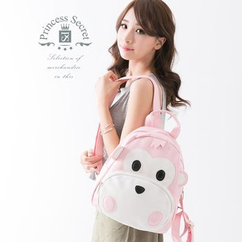 【PrincessSecret】日韓個性猴子牛津布後背包【P-X1042110506】