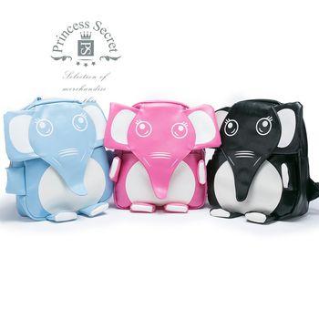 【PrincessSecret】日韓個性小象牛津布後背包【P-X1042010506】