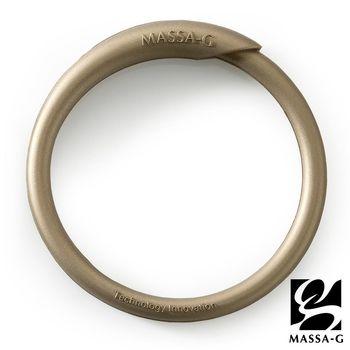 MASSA-G 炫彩動感負離子能量手環-金