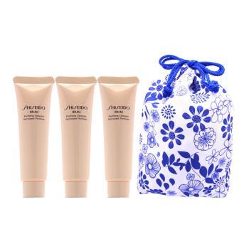 《資生堂》 新漾淨嫩潔膚皂30ml(買1送2)贈旅行束口袋
