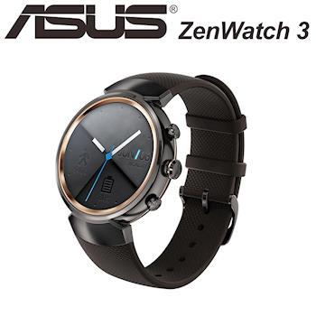 ASUS ZenWatch3 智慧手錶 - 煙燻黑 (WI503Q-1RGRY0010)