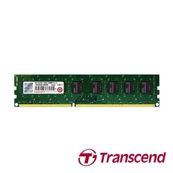 創見 Transcend 4GB JetRam DDR3 1600 桌上型 RAM 記憶體 1.5V JM1600KLH-4G