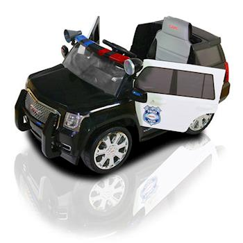 【兒童電動車】GMC雙驅動警車(可遙控) W462QHG-G01