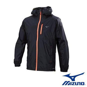 【Mizuno 美津濃】 高級防水透溼氣 男路跑風衣 運動外套 J2TC658409