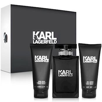 Karl Lagerfeld卡爾‧拉格斐 卡爾同名時尚男性淡香水禮盒-送品牌紙袋