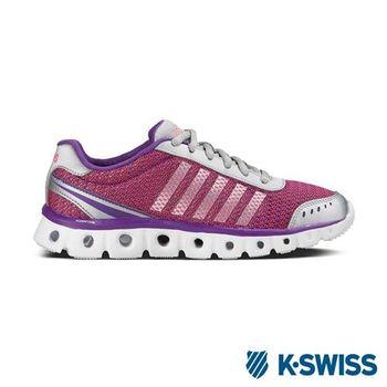 K-Swiss X Lite Athletic Heather CMF輕量訓練鞋-女-梅紫/銀