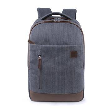 Dido shop 單寧牛仔風 15.6吋 筆電包 後背包