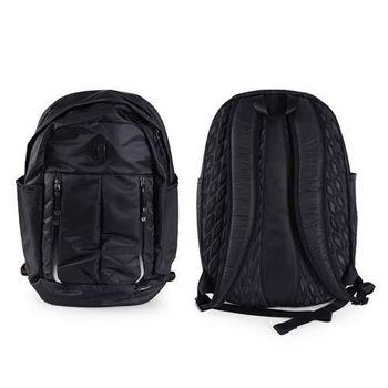 【NIKE】AURALUX雙肩包-後背包 旅行袋 黑白