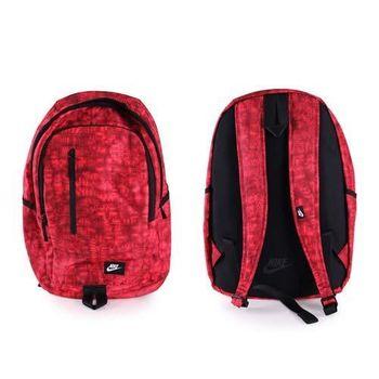 【NIKE】ALL ACCESS SOLEDAY 後背包-雙肩包 登山 旅行包 紅黑