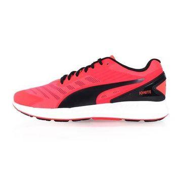 【PUMA】IGNITE V2 男訓練慢跑鞋-路跑 健身 螢光粉黑