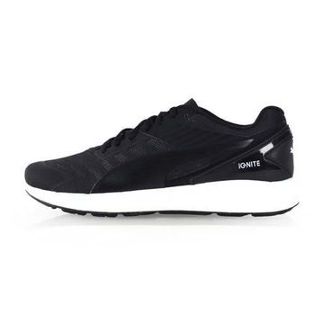 【PUMA】IGNITE V2 男訓練慢跑鞋-路跑 健身 黑白
