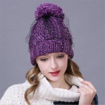 【米蘭精品】毛帽針織羊毛帽韓版加厚流行百搭女帽子3色73id32