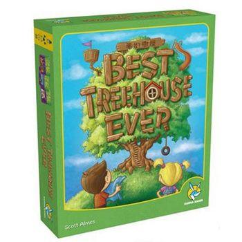 【楷樂桌遊】夢幻樹屋 Best Treehouse Ever (繁體中文版)
