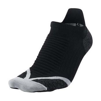 【NIKE】ELITE男厚底慢跑踝襪-路跑 短襪 襪子 黑白