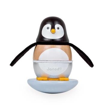 【法國 Janod】層層疊搖滾樂-頑皮企鵝