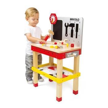 【法國 Janod】小木匠創意玩-站式工作台