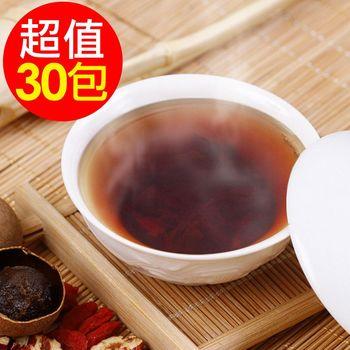 【水晶】桂圓紅棗茶包6袋(30包)