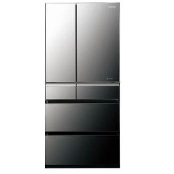 ★加碼贈好禮★【Panasonic國際牌】601L六門變頻鏡面冰箱 NR-F612VX-X1 (鑽石黑)