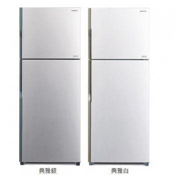 《HITACHI日立》  381L雙門變頻電冰箱RV399(PWH典雅白/SLS典雅銀)