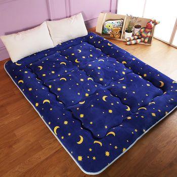 【契斯特】八公分超厚實京都日式床墊-雙人5尺-星空繁點
