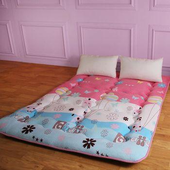 【契斯特】八公分超厚實京都日式床墊-雙人5尺-可愛童心