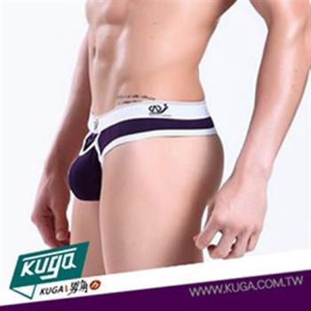 Kuga男角力 適貼身莫代爾丁字男內褲 紫色 【hwh026】【S/M/L】